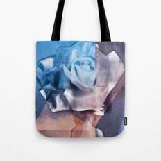 collage art # rose Tote Bag