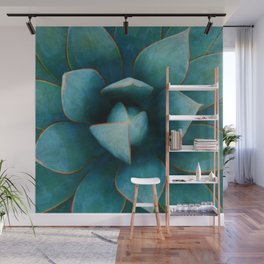 Succulent Plant Wall Mural