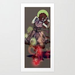 She Dances Endlessly, From Morning Til' Evening Art Print