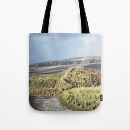 Tuft and Stone - Landscape Photography Tote Bag