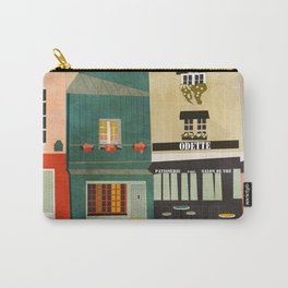 paris 2 travel europe france houses Carry-All Pouch