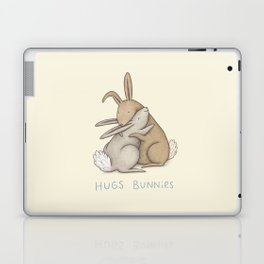 Hugs Bunnies Laptop & iPad Skin