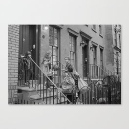NYC Family  Canvas Print