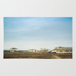 life in iceland Rug