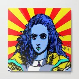 Alice Starburst Metal Print