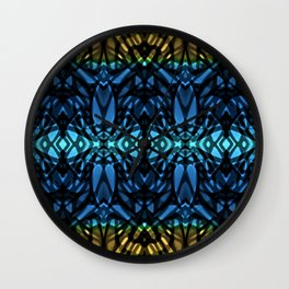 Fractal Art Stained Glass G315 Wall Clock