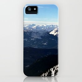 Crispy light air up here iPhone Case