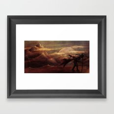 Exploration for Survival Framed Art Print