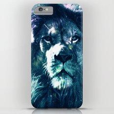 Lion Leo Teal iPhone 6 Plus Slim Case