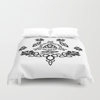 celtic Duvet Covers featuring Celtic Design by Spiro Vasilevski