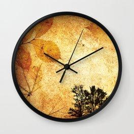 Fine Art of The Falling Tree of My Homeland Wall Clock