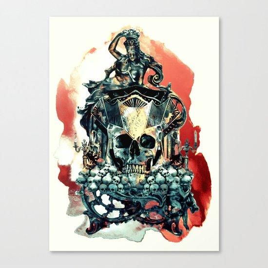 THE KING V Canvas Print