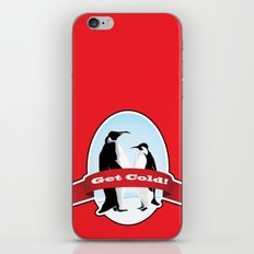Get Cold iPhone & iPod Skin