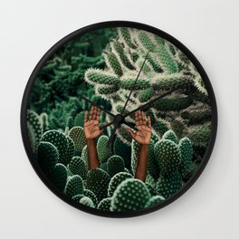 Rough Patch Wall Clock