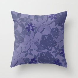 Untitled-2 (flowers) Throw Pillow