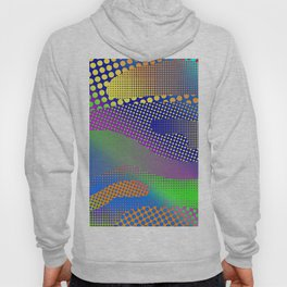Halftone Sea Color Hoody