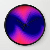 wings Wall Clocks featuring Wings by Brian Raggatt