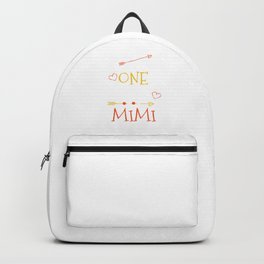 One Thank Mimi Happy Thanksgiving Day Backpack