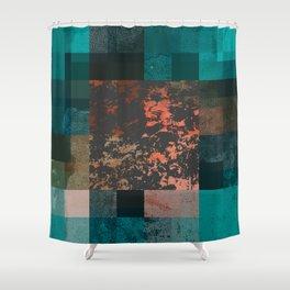 PAST FORWARD Shower Curtain