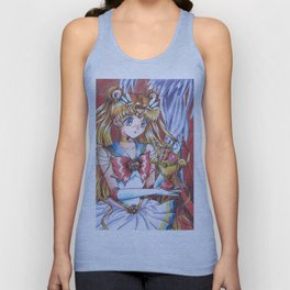 Super Sailor Moon Messiah Grail Unisex Tank Top