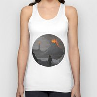 lord of the rings Tank Tops featuring Lord Of The Rings by ketizoloto