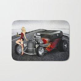 Hot Road Bath Mat