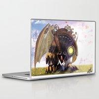 bioshock Laptop & iPad Skins featuring Bioshock Infinite: The SongBird by GIOdesign