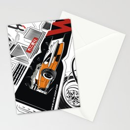 The Master Z - Datsun 280z by DCW classic Stationery Cards