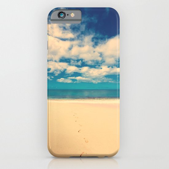 Footprints in the Sand iPhone & iPod Case