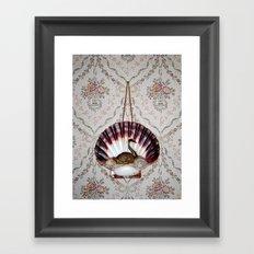 Grandmother`s wall Framed Art Print