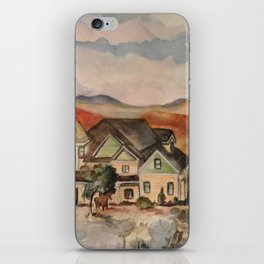 Poppy Fields Ranch iPhone Skin