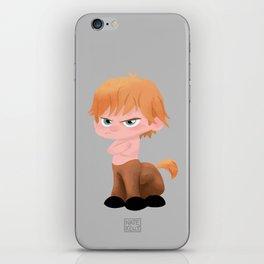 Grumpy Centaur iPhone Skin