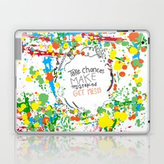 Miss Frizzles mantra ...take chances make mistakes get messy Laptop & iPad Skin