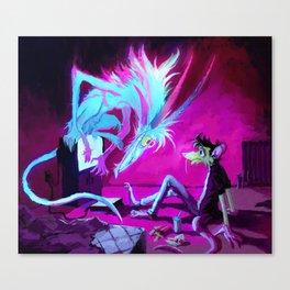 Video Demon Canvas Print