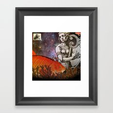 Her Song and How She Remembered It Framed Art Print