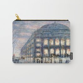View of the Theâtre du Châtelet by Maximilian Luce Carry-All Pouch