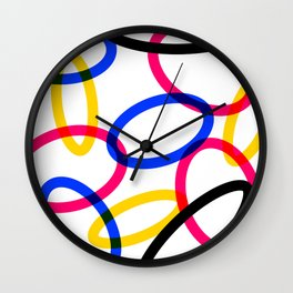 CMYK 01 Wall Clock