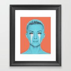 light overflow Framed Art Print
