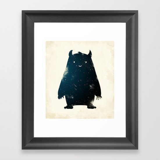 Mr. Cosmos (Color Version) Framed Art Print