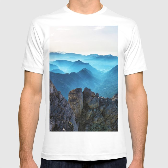 Mountains Breathe Too T-shirt