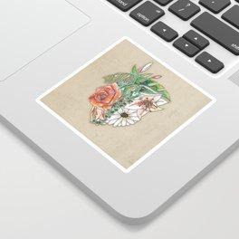 Heart in Bloom Sticker