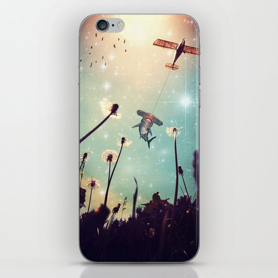Flying Lessons iPhone & iPod Skin