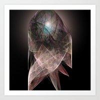 Abstract Angel  Art Print