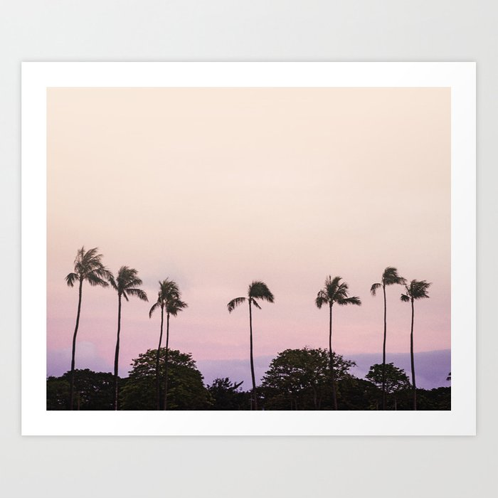 Magic Hour / Tropical Photography Art Print