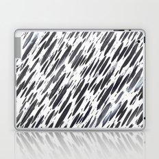 Boho Charcoal Brushstrokes Laptop & iPad Skin