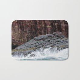 Wave and Rock Bath Mat