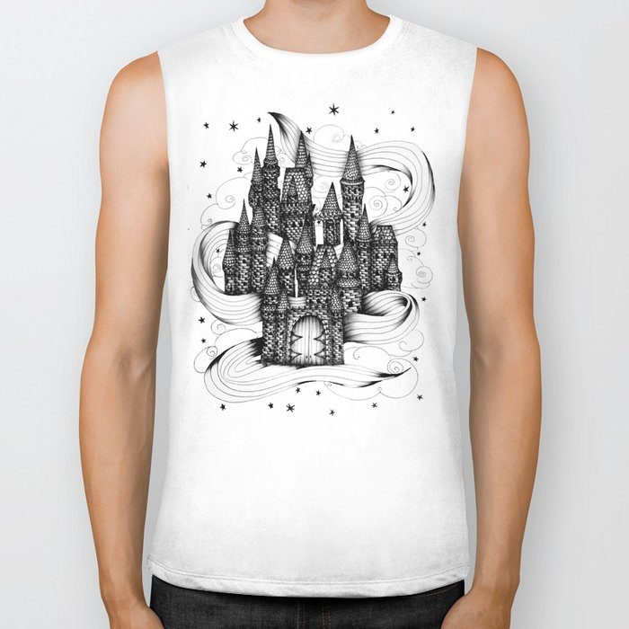 Super Magic Dream Castle Biker Tank