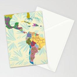 Map. Mapa. Carte. Stationery Cards