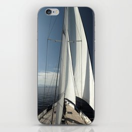 sailing iPhone Skin