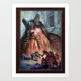 Kingdom of the Felsen Art Print